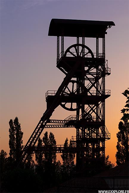 Mines De Charbon En France : mines, charbon, france, Photoblog, Charbon,, Voyage, France,