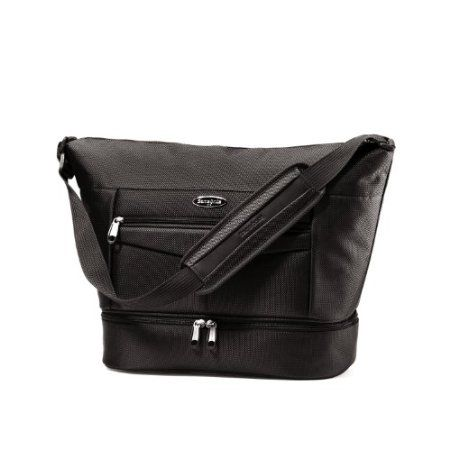 Samsonite Silhouette 12 Boarding Bag- unzips at the bottom to help you find what you need!