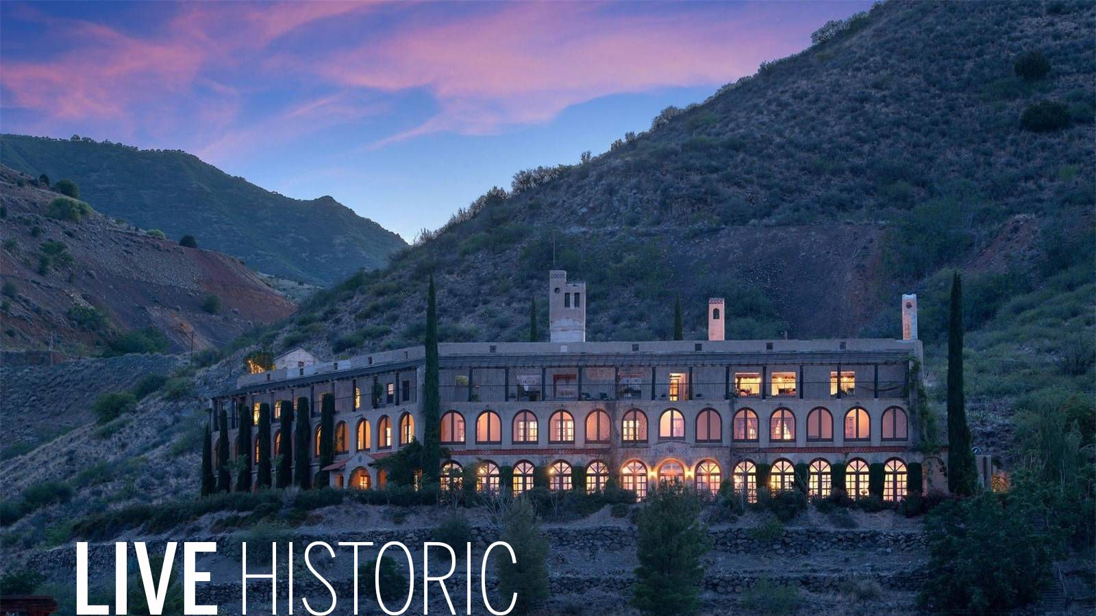 Living History Own A Converted 40 Room Hotel In Jerome Arizona