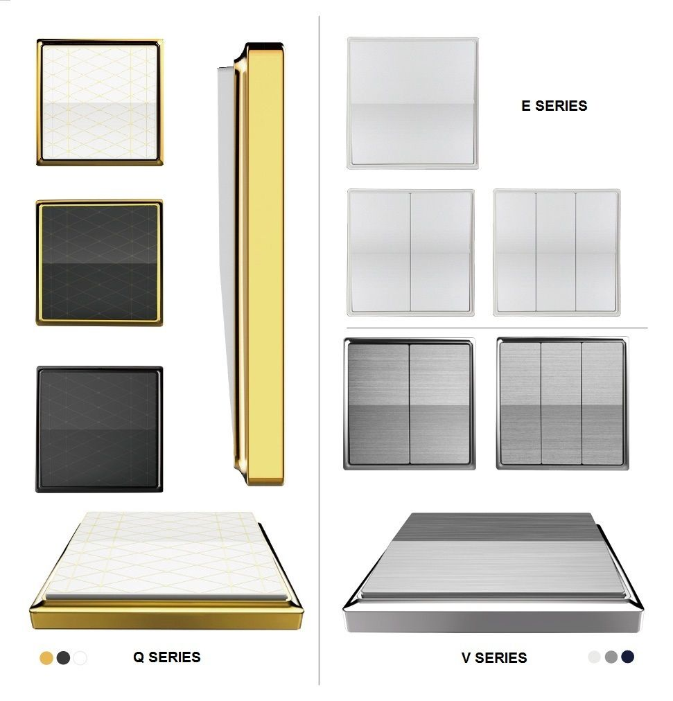 Kinetic Wireless Light Switches - Buy Online in the UK   GLSTouch ...