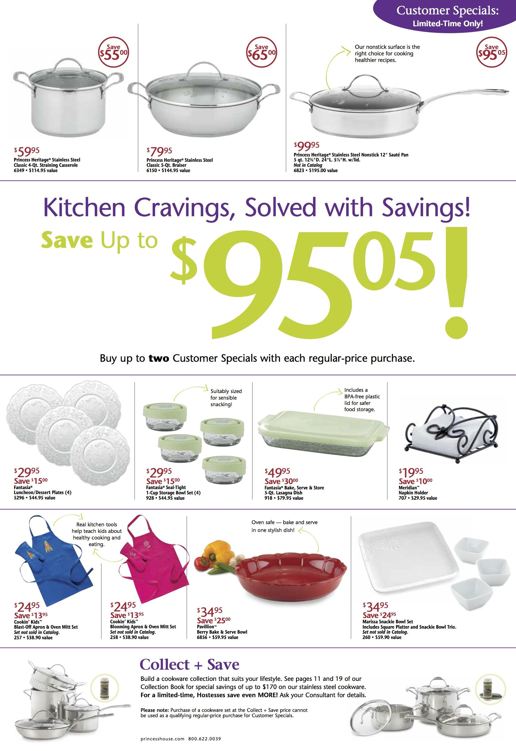 This Months Specials Princesshouse Products I Love Kitchen