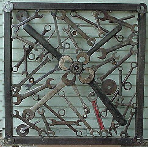 Antique Screen Door Repurposed