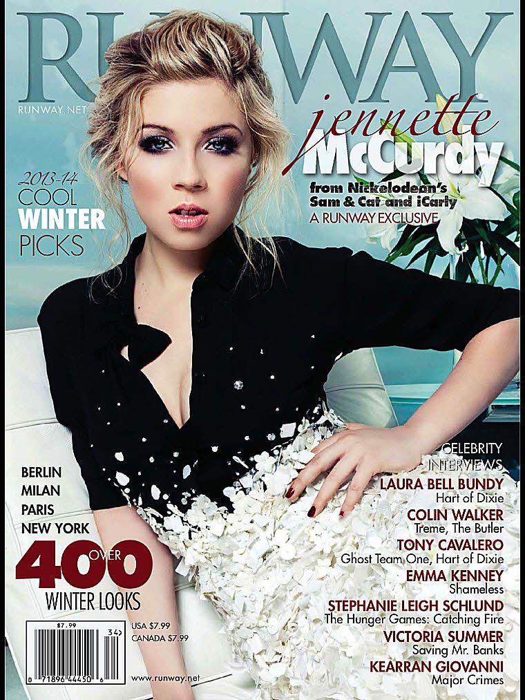 Jennette McCurdy- Runway Magazine Winter 2013/2014