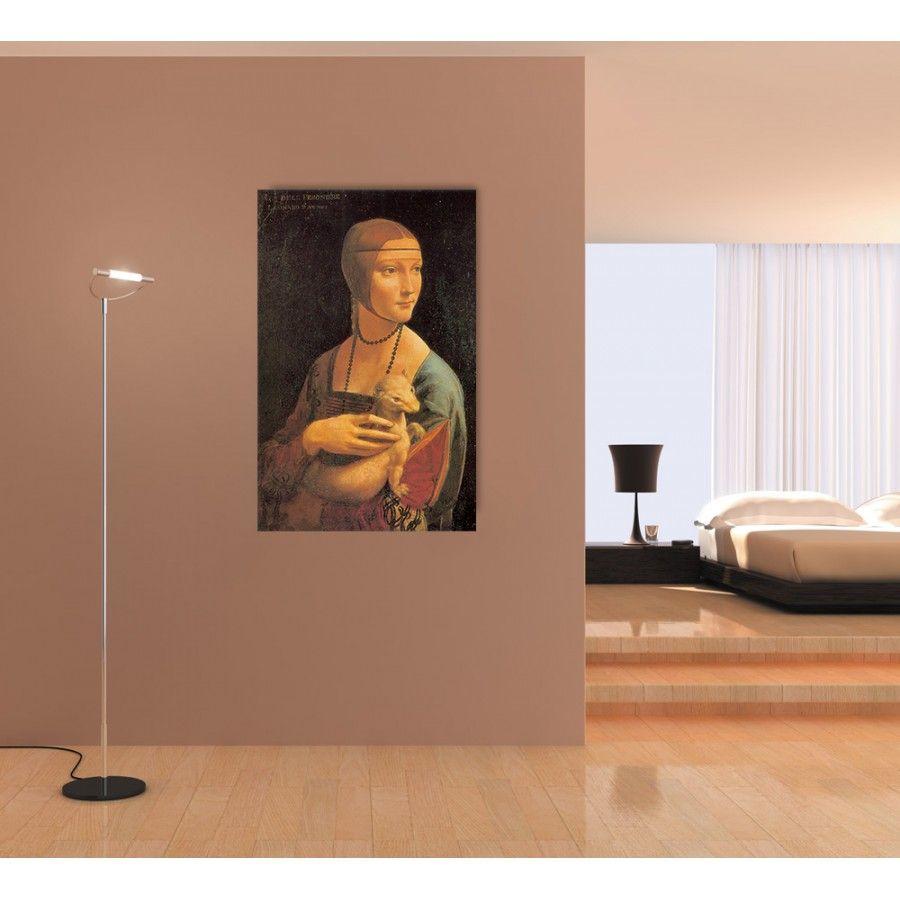 DA VINCI - DAMA CON ERMELLINO (90x140 cm/ 64x100 cm) #artprints #interior #design #museo #museum #art #prints  Scopri Descrizione e Prezzo http://www.artopweb.com/categorie/museo/EC15112