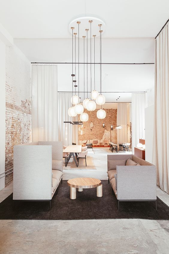 Magnifique décoration très épurée qui donne tout son charme à ce loft | Décoration intérieure ...