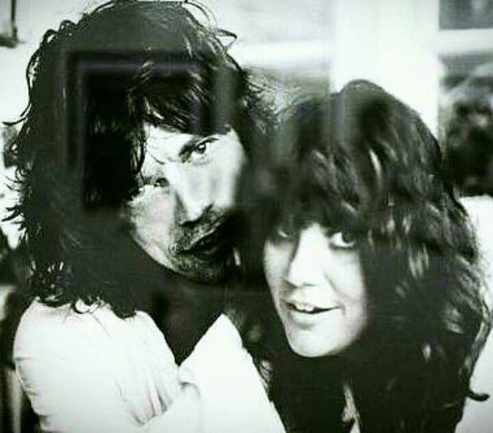 LINDA WITH MICK JAGGER