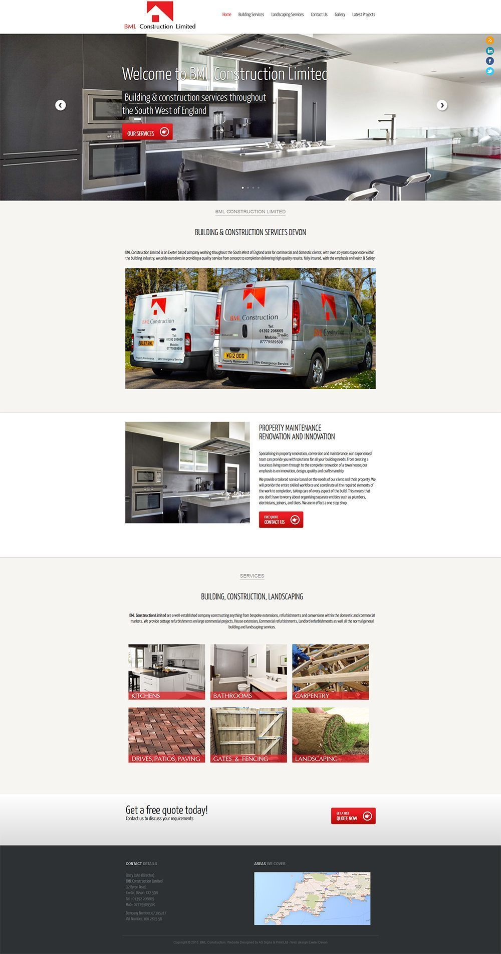 Building Services Exeter Devon Webdesignexeter Portfolio Web Design Web Design Websites Web Development Design