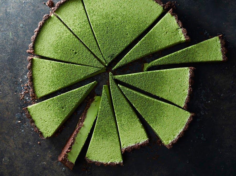 Tarta de queso con té Matcha | Cocina