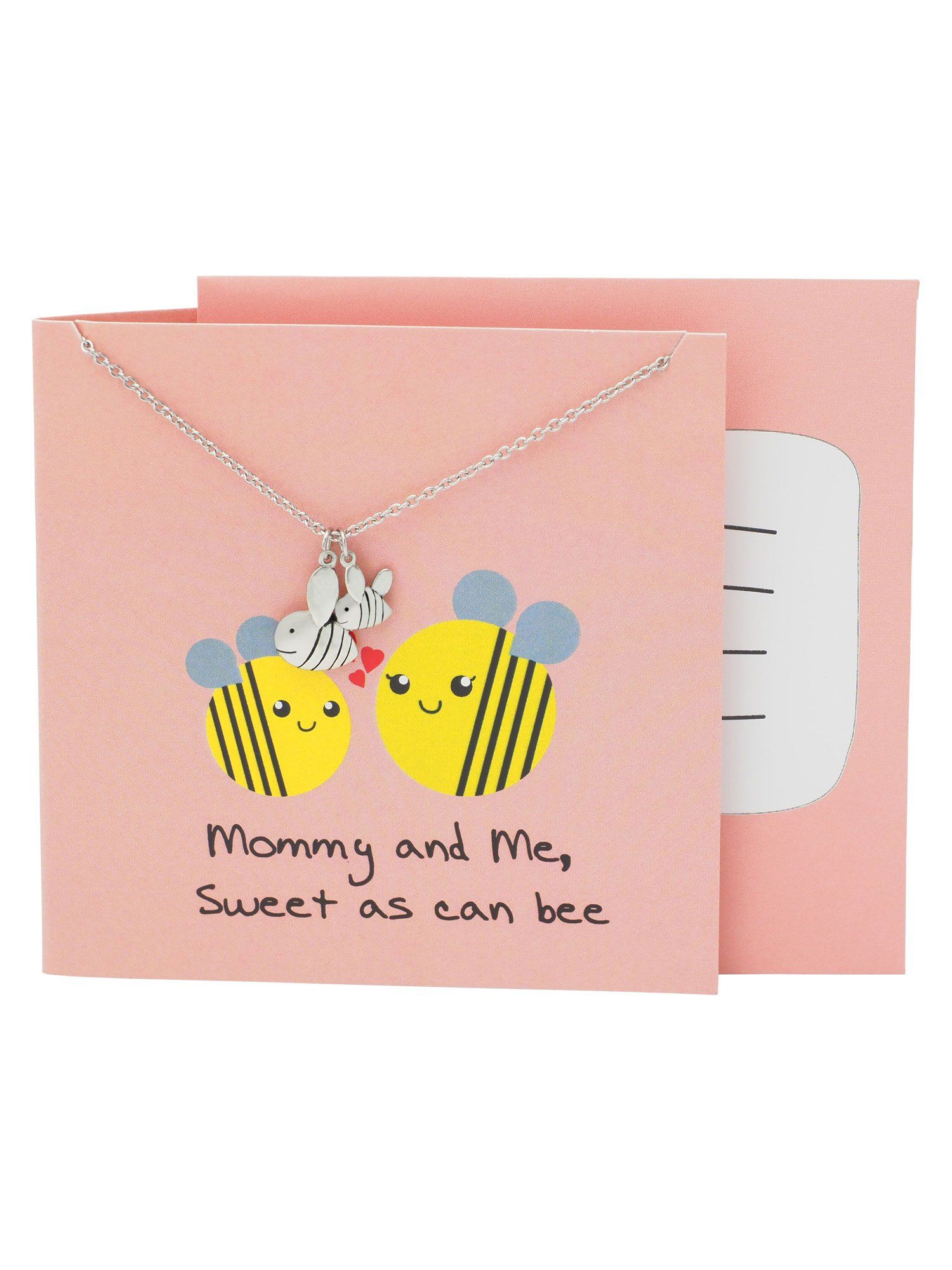 Jess Gifts For Mom Funny Puns Birthday Cards And Bee Necklace