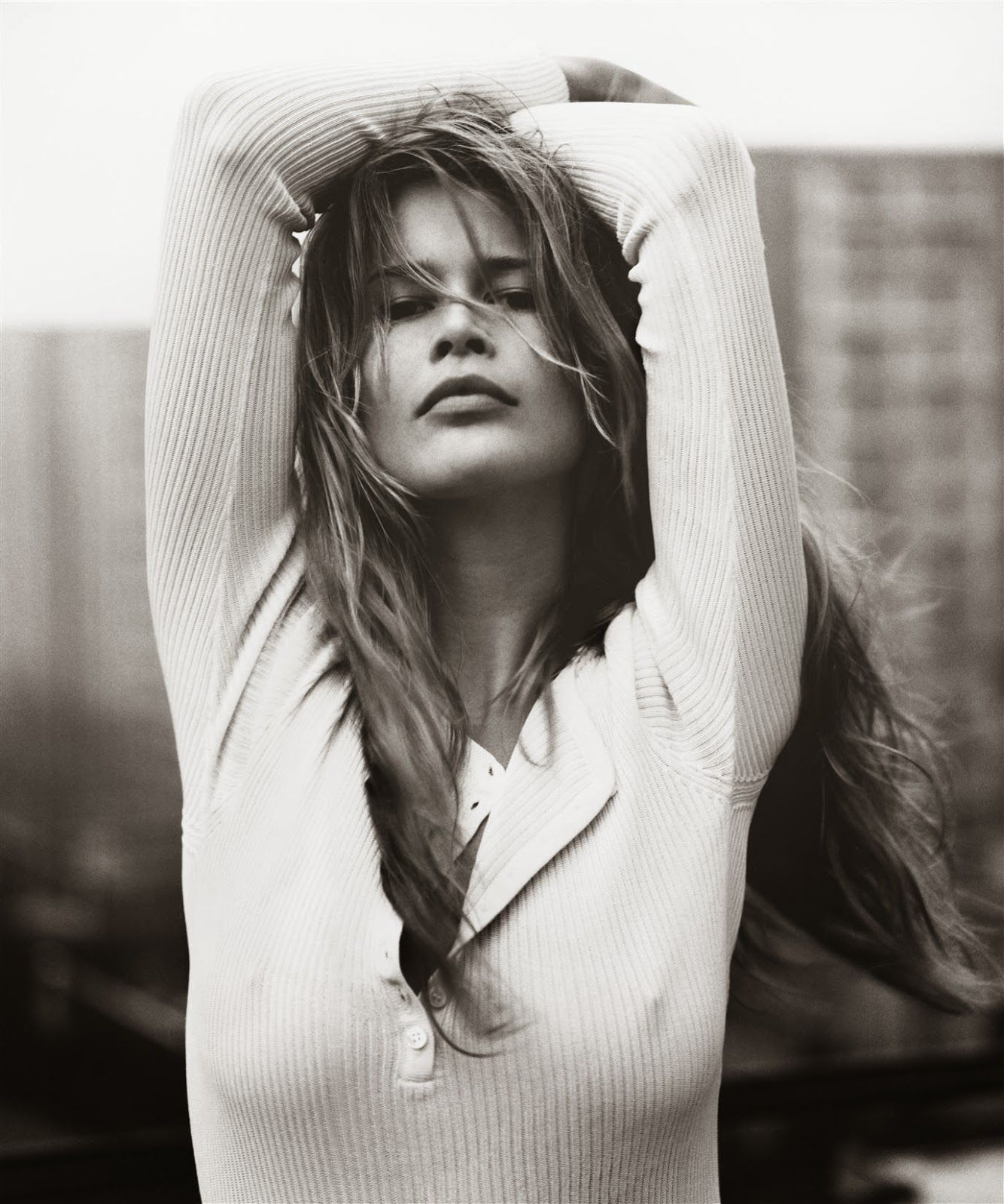 Claudia Schiffer Simple Styling Supermodels Original Supermodels Claudia Schiffer