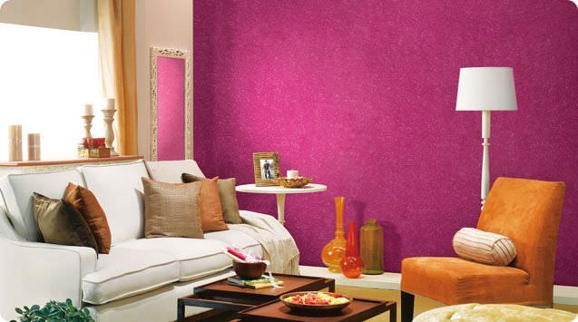 Decorative coating -for walls - water-based -for masonry ...