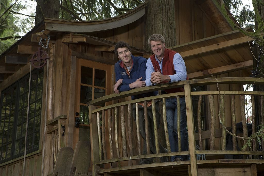 pete nelson s tree houses. Unique Pete If Youu0027ve Ever Watched TreeHouse Masters You Know Thereu0027s Something  Different About Pete Throughout Nelson S Tree Houses 1