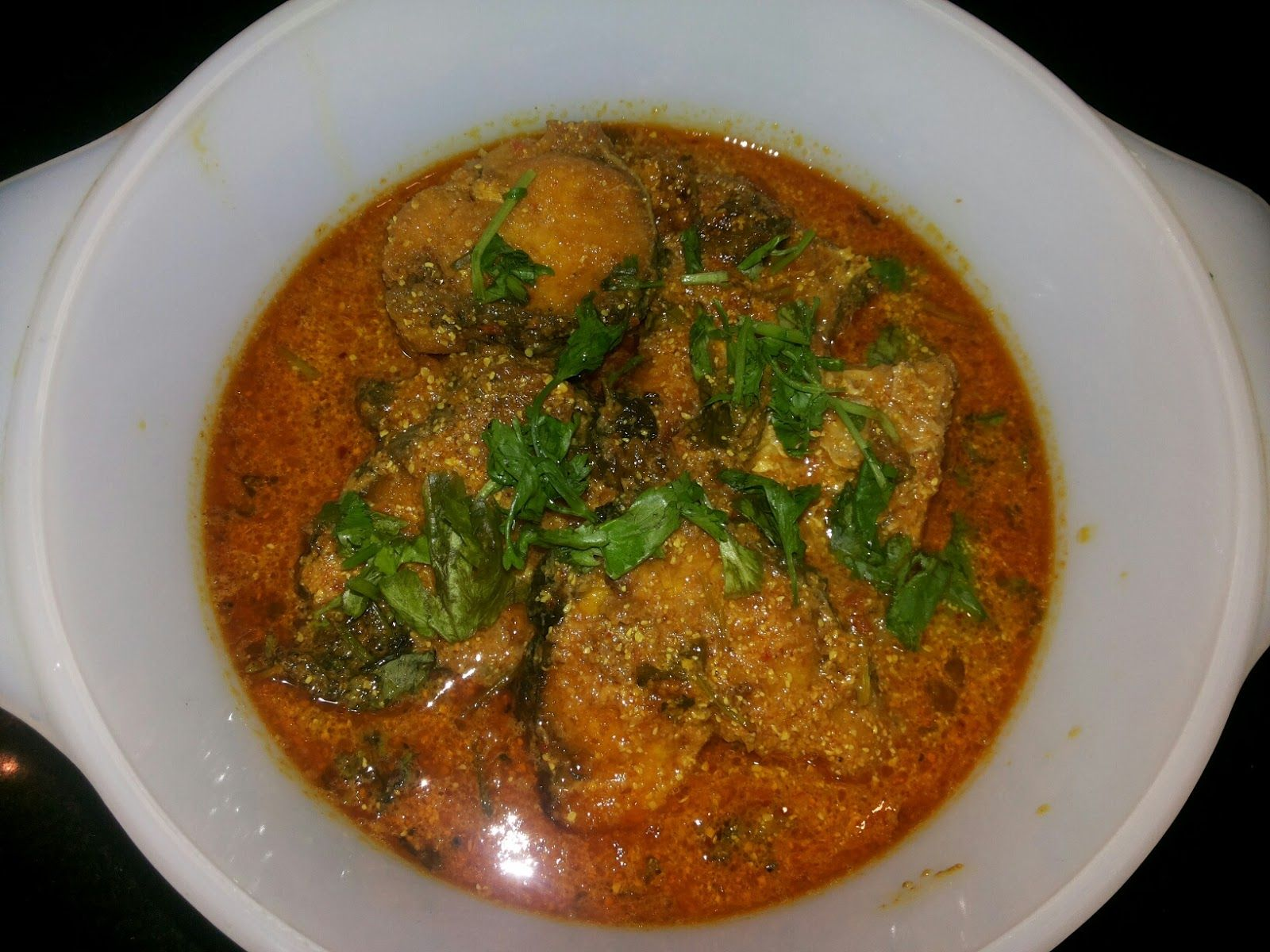Desi Tadka - Flavor of Indian Kitchen: Fish Curry (Base on Yellow mustard and tomato )