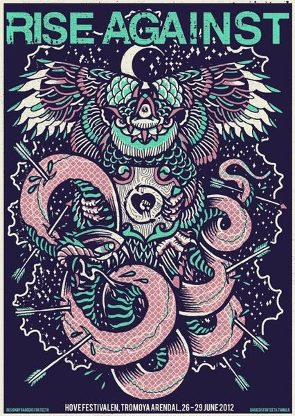 GigPosters.com - Rise Against