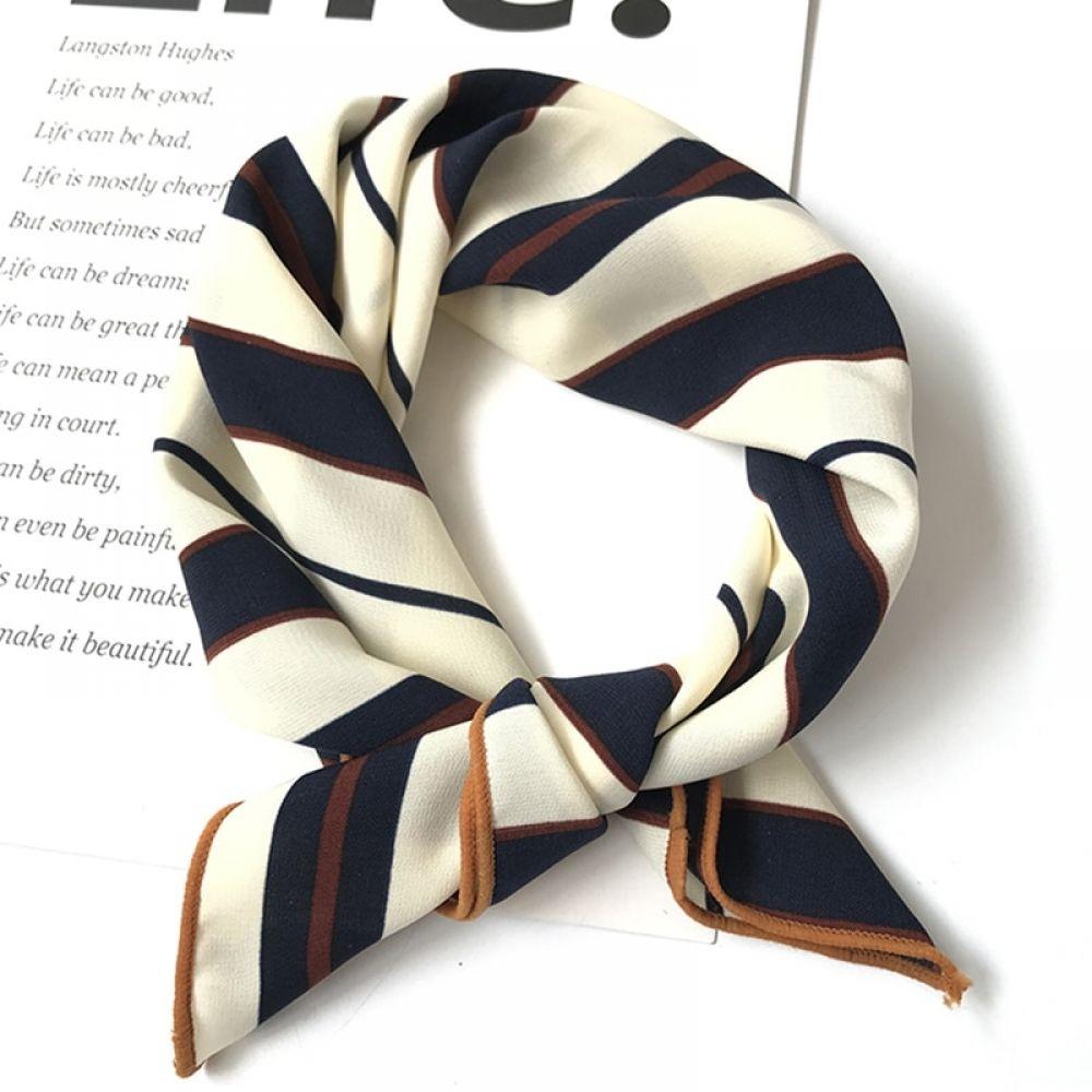 Small Vintage Chic Style Square Scarf Head Neck Wrap Chiffon Neckerchief