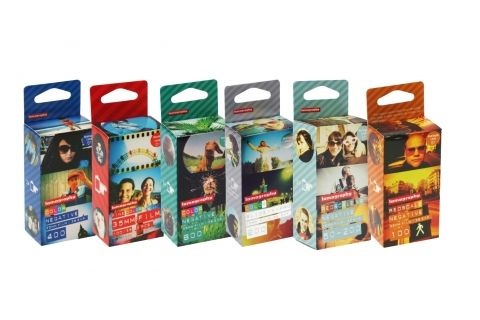 Lomography 35mm Film Try Out Kit - Lomography Film - Films - Lomography Shop