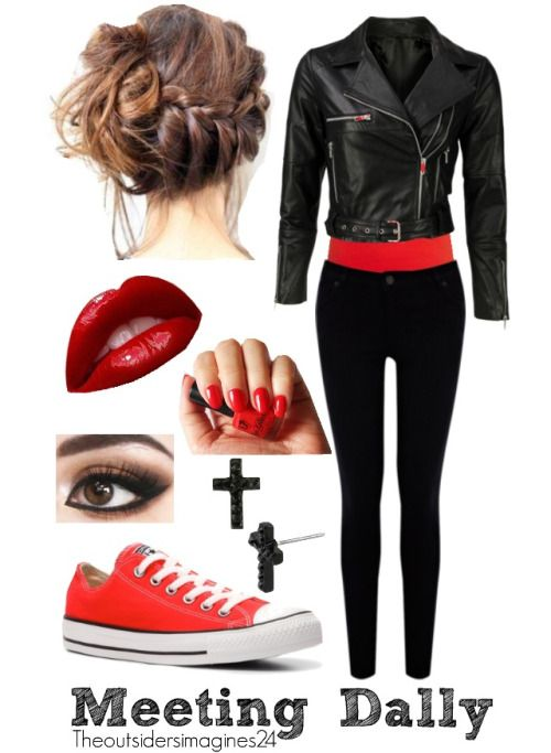This how to be a greaser girl huge slap
