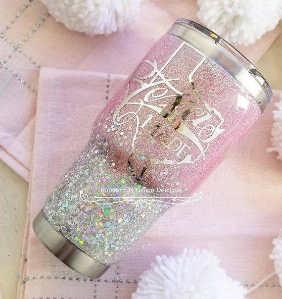 Glitter tumbler, Custom mug, Glitter tumbler, Glitter cups, glitter and epoxy tumbler, Glitter bottle, Custom glitter tumbler