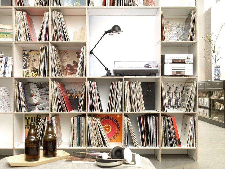 Die besten 25+ Lp regal Ideen auf Pinterest Vinyl-plattenregal - designer mobel bucherregal