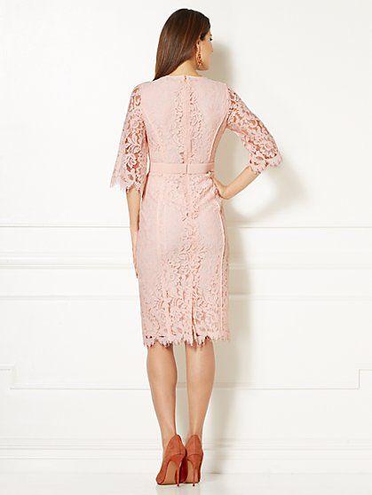 New york and company lace sheath dress