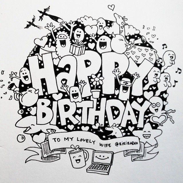 doodle happy birthday - Google Search | Happy birthday ...