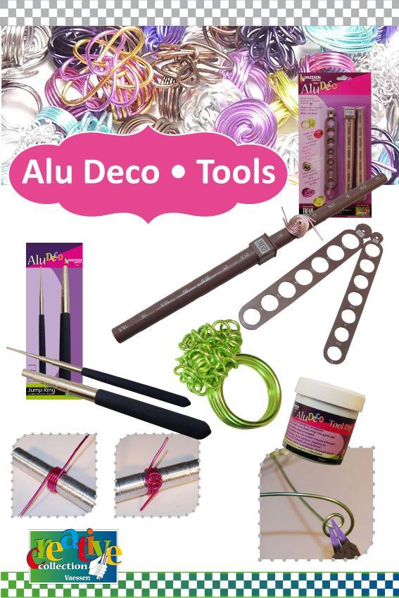 Vaessen Creative Alu Deco Tools Homemade Jewelry Homemade