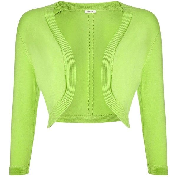 Precis Petite Lime Shrug ($69) ❤ liked on Polyvore featuring ...