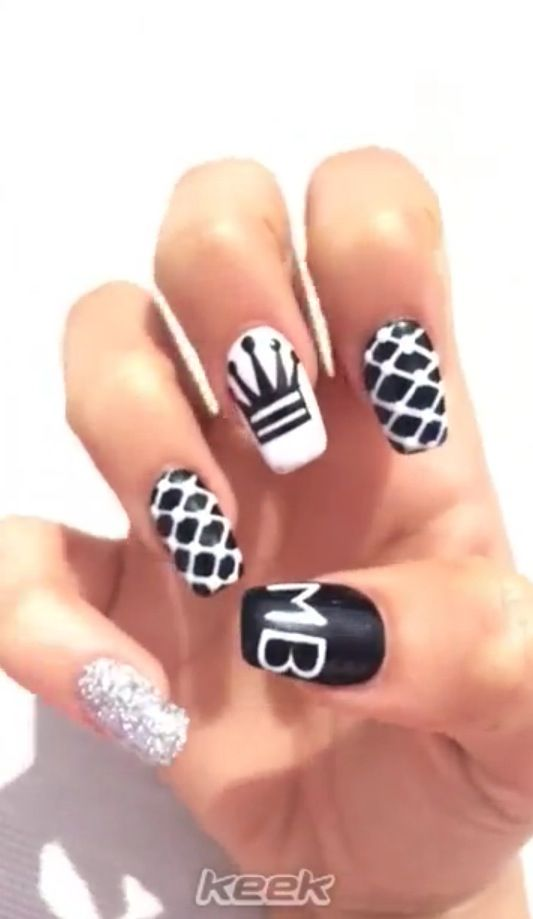 Madison Beer nails ❤   ℂℒᎯᏇЅ   Pinterest   Madison beer