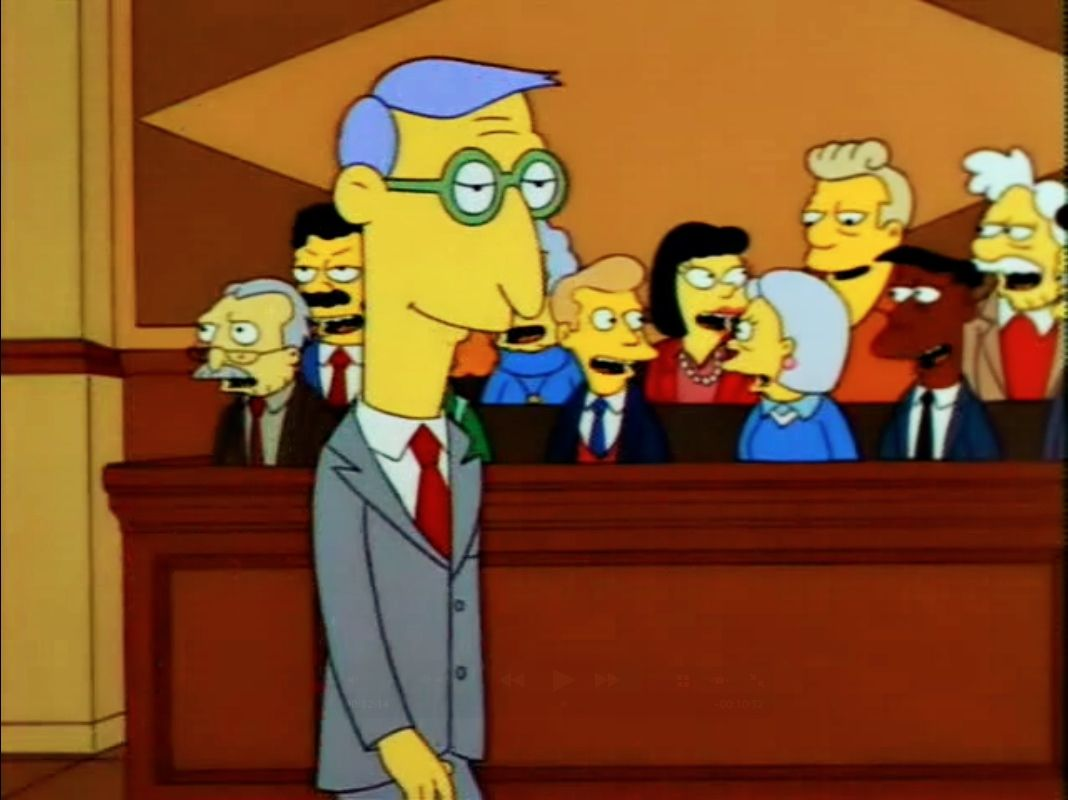 Blue Haired Lawyer The Simpsons 1989 Imd Http Www Imdb