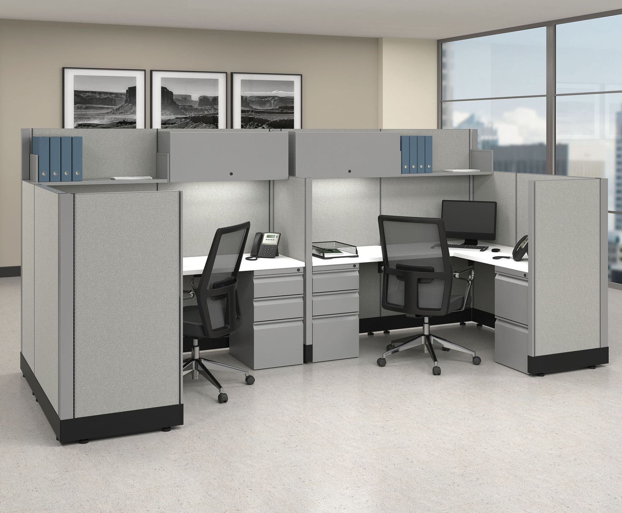 The Humble Cubicle May Be Out Of Fashion But Still Offers Value In Modern Office Spaces Feature Modular Office Furniture Office Interior Design Office Design