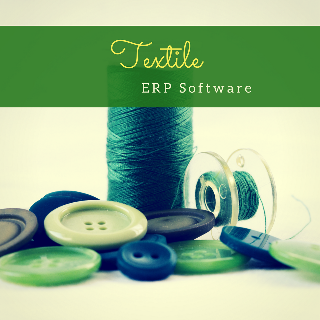 Software | ERP | Textile manufacturing, Textile industry