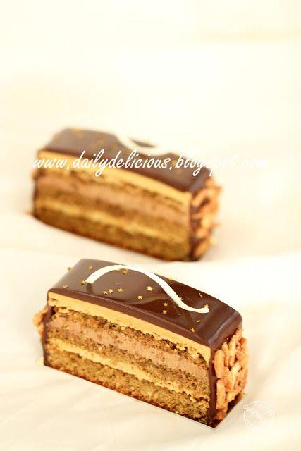 dailydelicious: Buon compleanno il mio amico: Caffè entremets grano intero