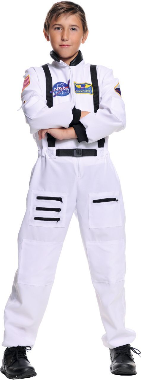 White Astronaut Costume for Boys - Party City | For Nathan ...