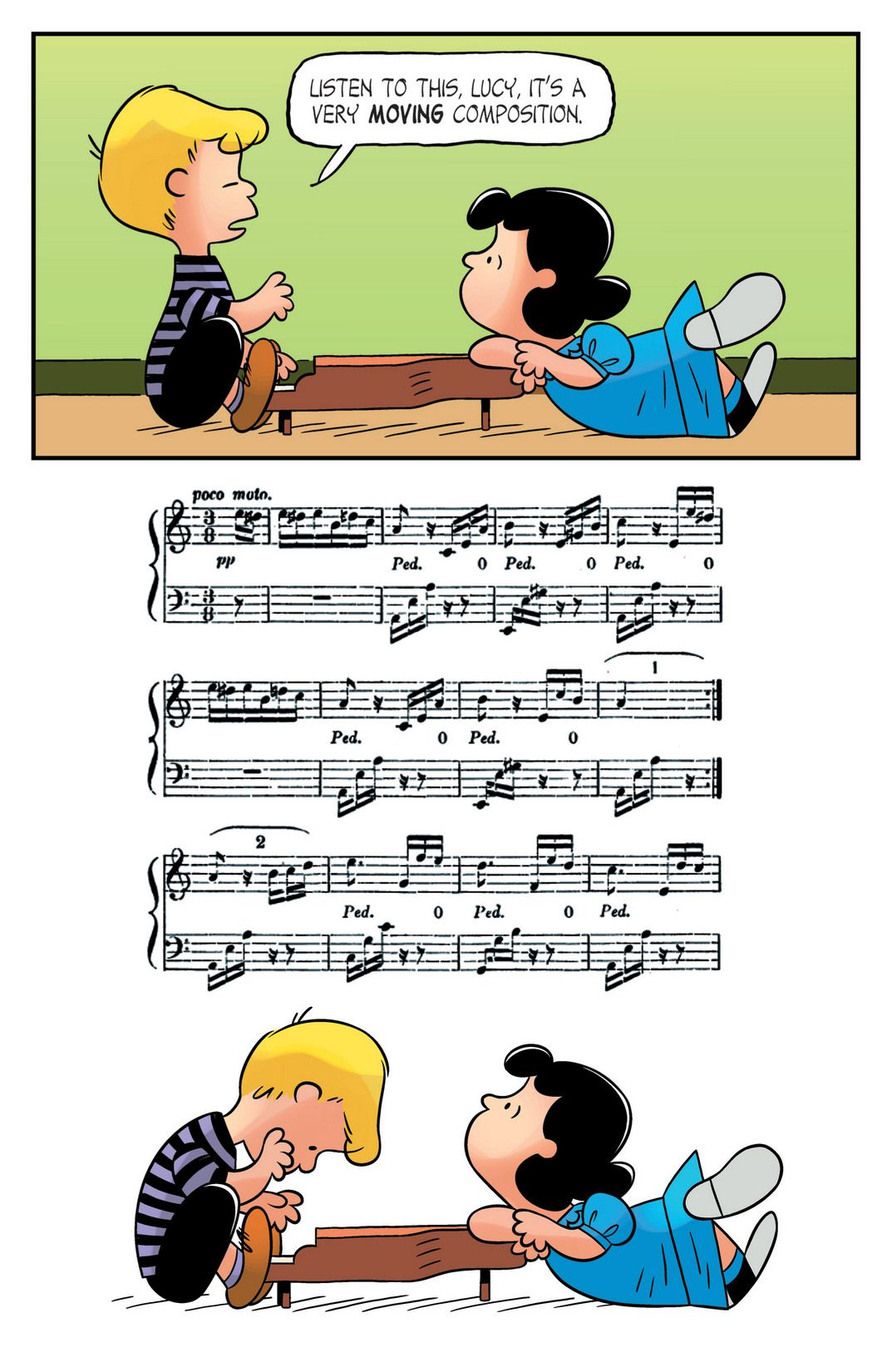 KaBOOM Peanuts Series 2, #11 - Brush up your Beethoven 3