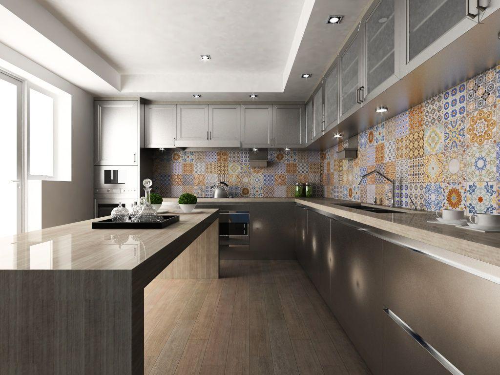 Interceramic murcia decos graphic patterns mosaics for Azulejos para cocina interceramic