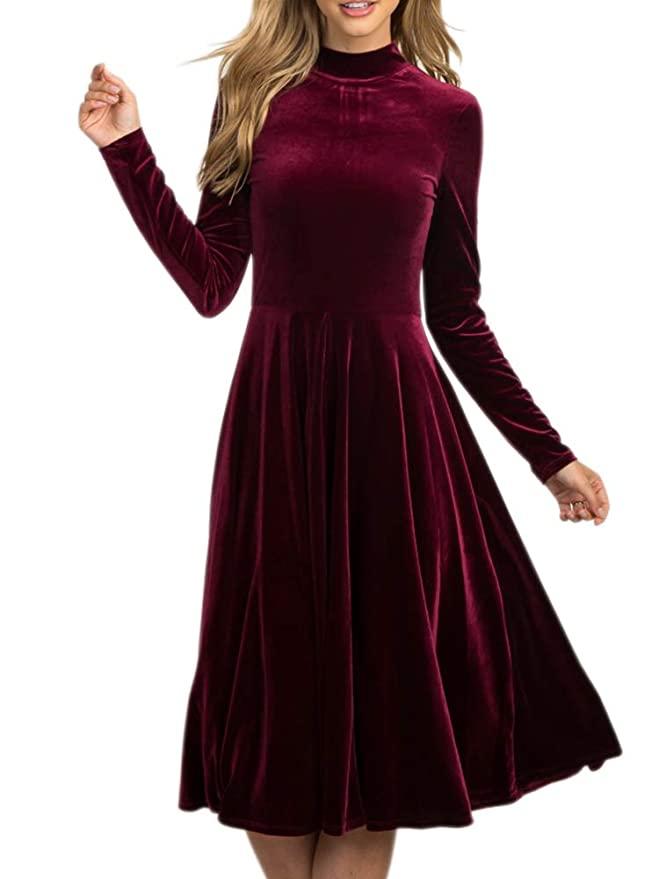 42+ Womens velvet dress ideas
