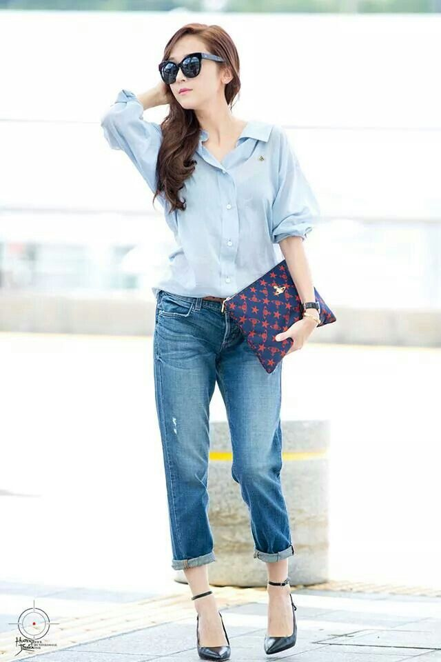 Jessica 39 S Style Snsd Fashion Style Airport Redcarpet Events Pinterest Airport Fashion