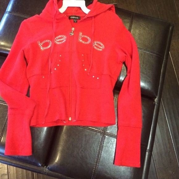 BeBe Womens Outerwear Womens Hooded Bomber Jacket