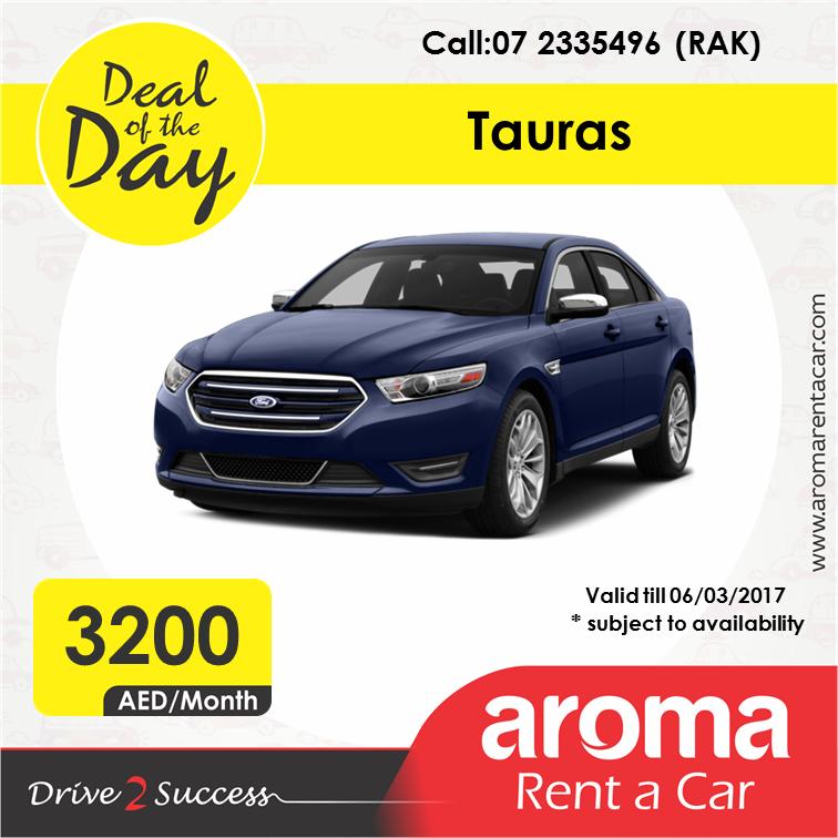Rent A Car Monthly Aroma Rent A Car Offers Deal Of The Day Rak Tauras 06 03 2017 Www Aromarentacar Com Rent A Car Car Rental Car