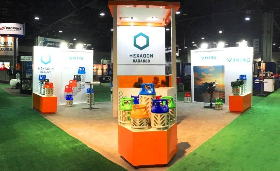 Hexagon Ragasco stand in NPGA Southeastern Convention