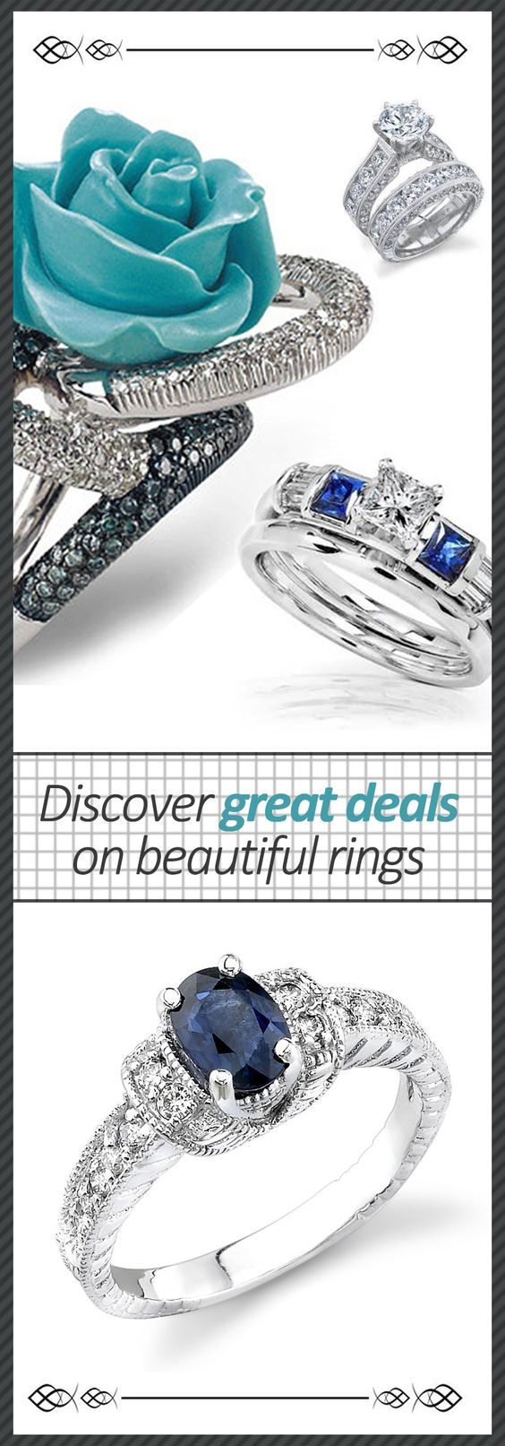 A collection of beautiful rings with great deals at tophatter you