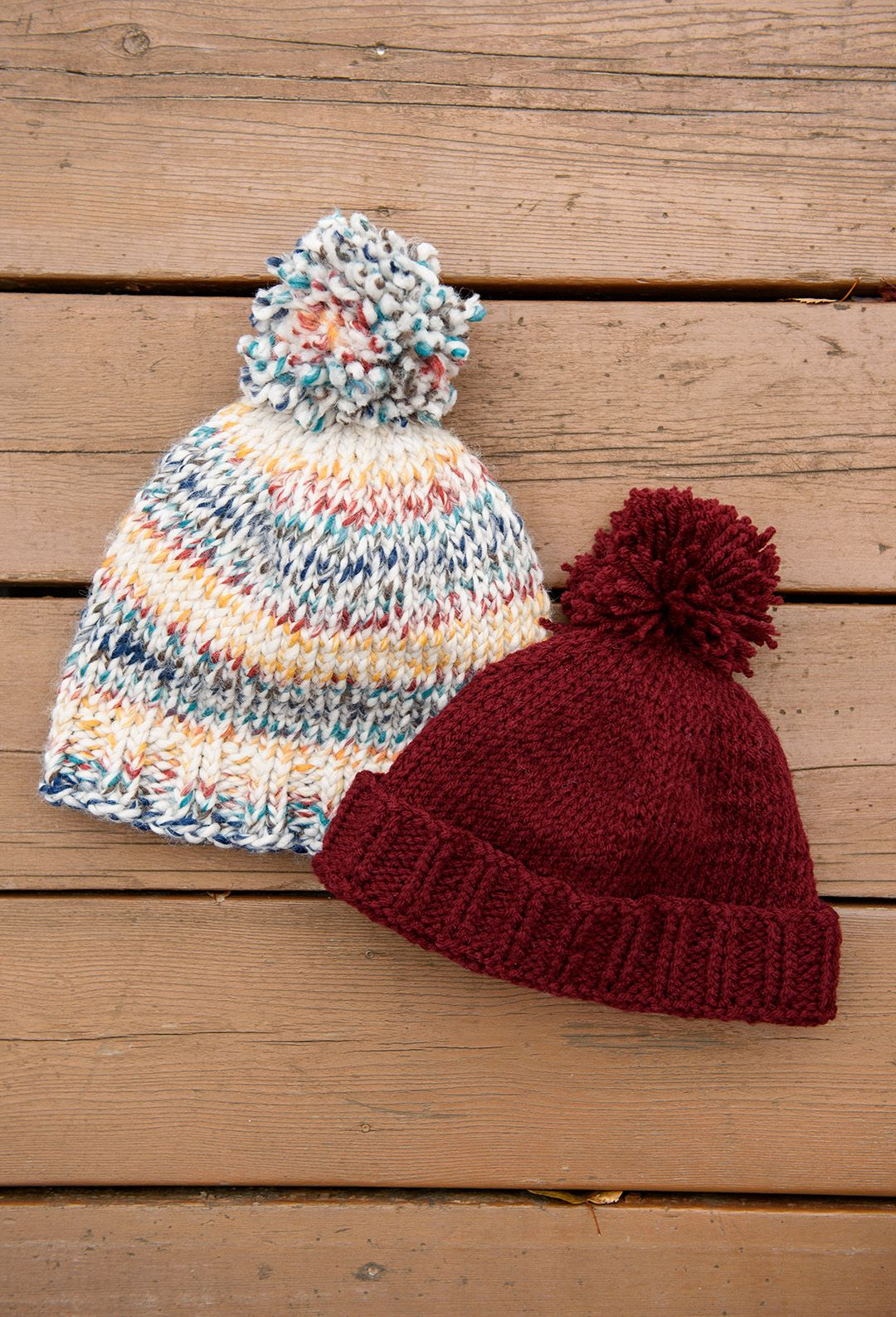 Easy Beginner Knit Toque with free pattern // www ...