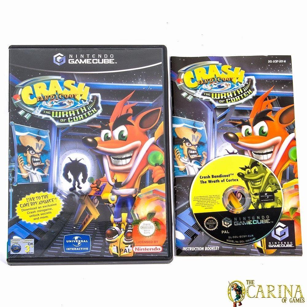 Crash Bandicoot The Wrath Of Cortex - Nintendo Gamecube Game & Case UK PAL in Video Games ...