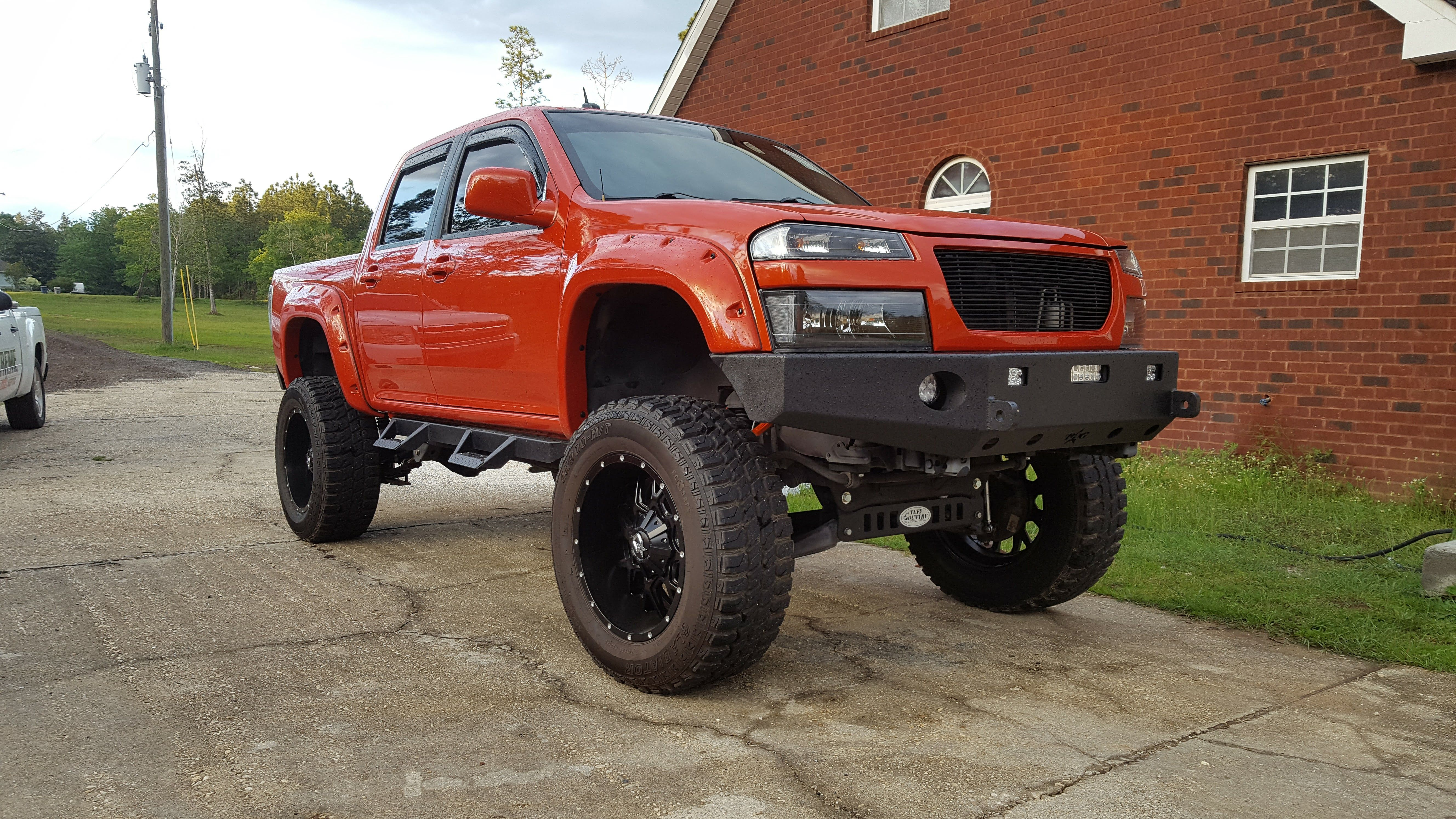 """Lifted Chevy Colorado / GMC Canyon On 35s, 10.5"""" inches of"""