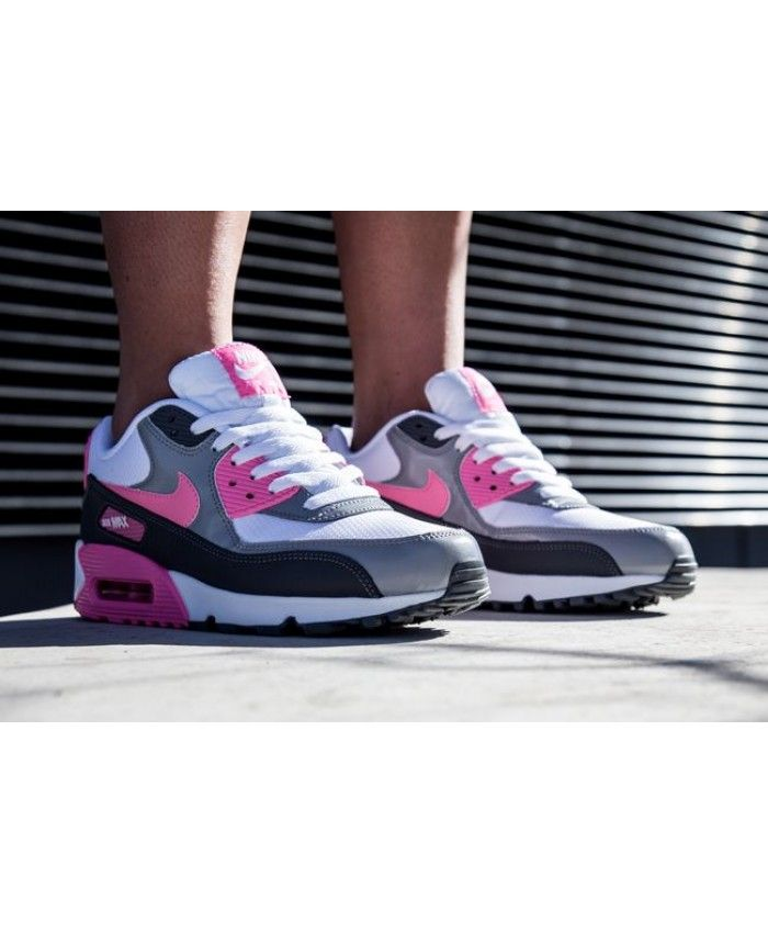 pedestal estudiar Y  Air Max 90 Essential Wolf Grey Pink Trainer The latest style, wear very  comfortable and light. | Nike air max, Nike running shoes women, Nike air  max 90