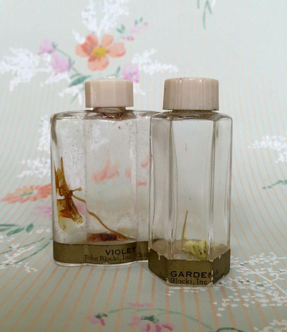 Blocki mini perfume bottles, circa 1920