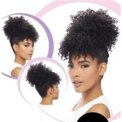 The Wig Brazilian Human Hair Blend Full Wig Hh Afro
