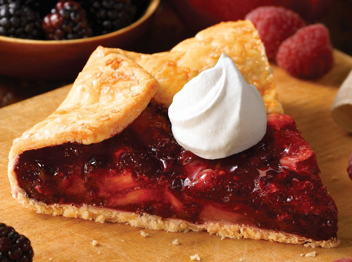 Bakers Square Harvest Berry Galette Our Legendary Flaky Pie Crust Is Baked In Handcrafted Rustic Style With A Filling Made From Bakers Square Fruit Cream Food