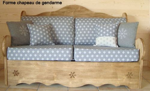 Canape Bed Express Canape Rapido Canape Convertible Bois Canape Couchage Concertible Deco Montagne Decoration Deco