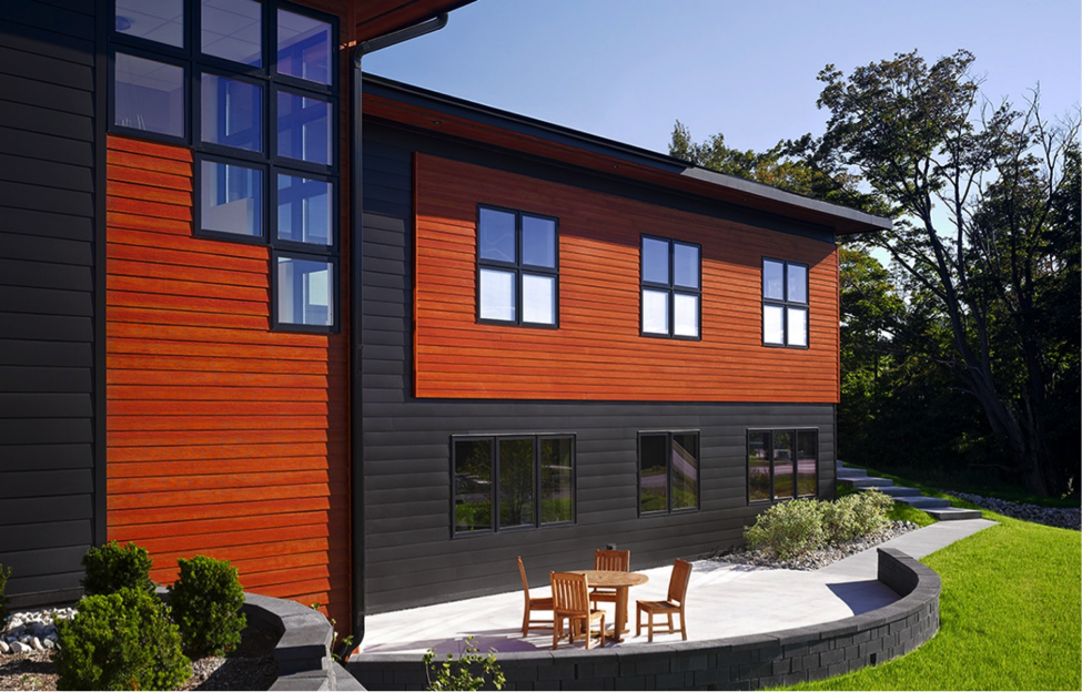 Fiber Cement Siding That Looks Like Wood | Modern siding ...